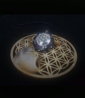 Collier Fleur de Vie H/F Bijoux et Orgonites