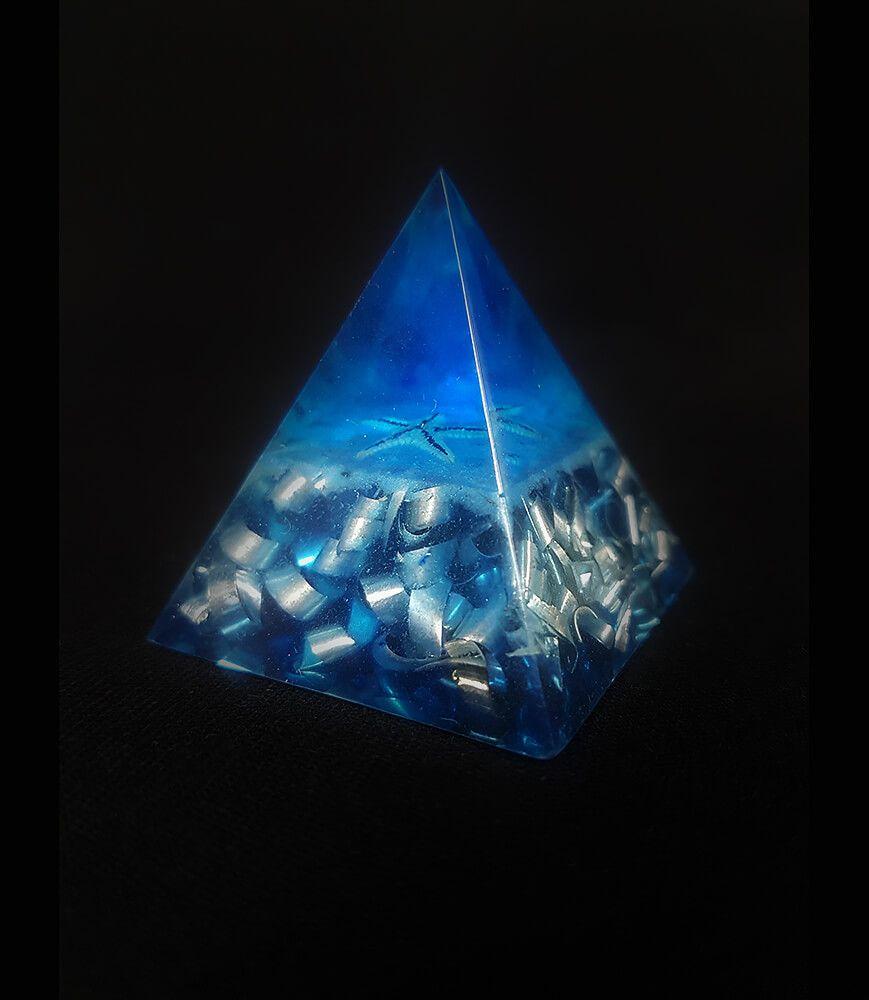 Pierre de Sommeil Phosphorescente bleue