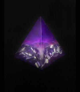 Pierre de Sommeil Phosphorescente violette