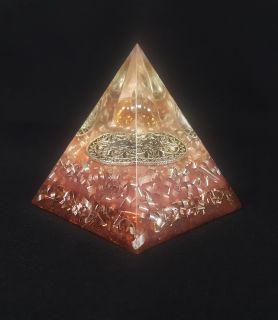 Orgonite Sphère Rosée